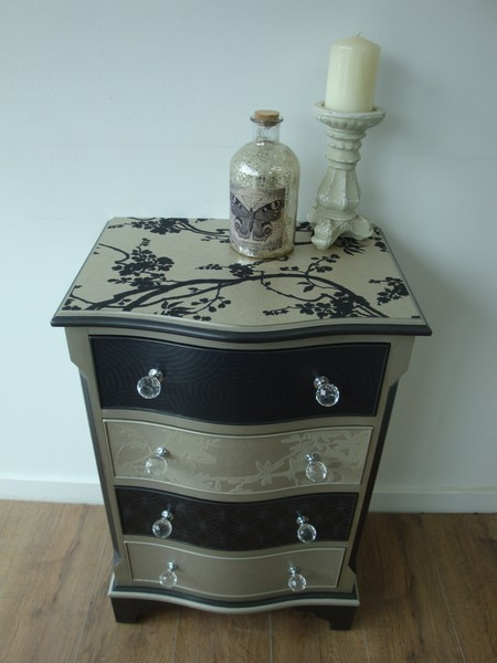 Small Metallic Chest Of Drawers