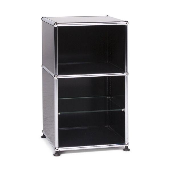 Usm Haller Designer Metal Sideboard Black Shelf 9303 Usm Haller
