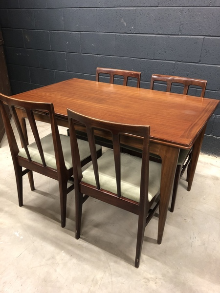 A.Younger Extending Dining Table 4 Chairs photo 1