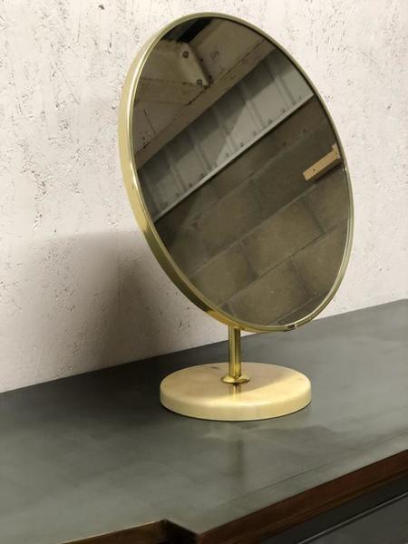 A Schreiber Vintage Round Vanity Mirror 1960s/70s