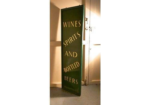 19th Century Pub Mirror Advertising Sign