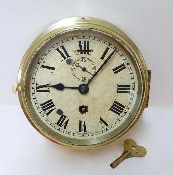 Vintage Smiths Bulkhead Clock
