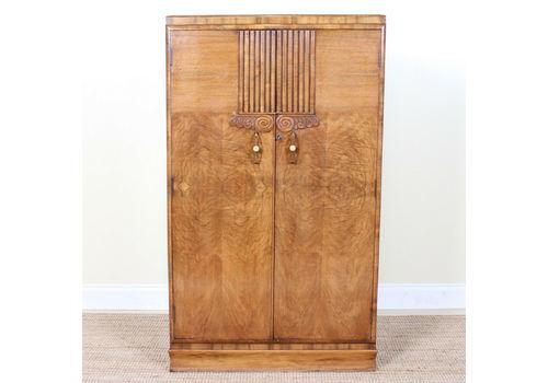 Nice Small Vintage Wardrobe Armoires & Wardrobes Retro Art Deco Gentleman's Armoire