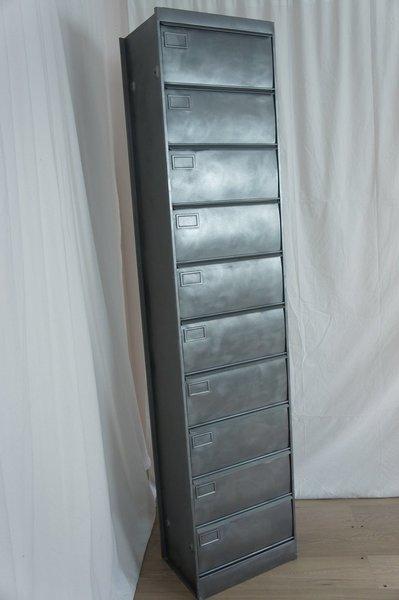 Single Industrial Metal Storage Locker