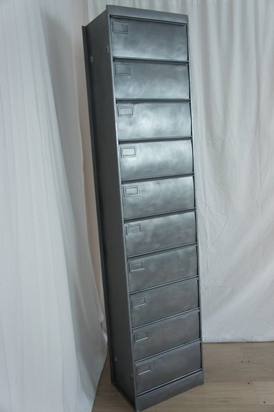 Single Industrial Metal Storage Locker photo 1