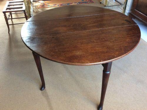 18thc George Ii Mahogany Gateleg Table