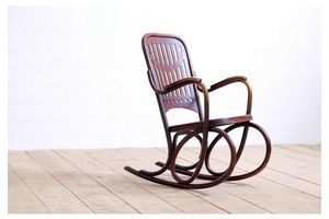 Thumb antique art nouveau arts crafts bentwood rocking armchair by thonet circa 1904 0