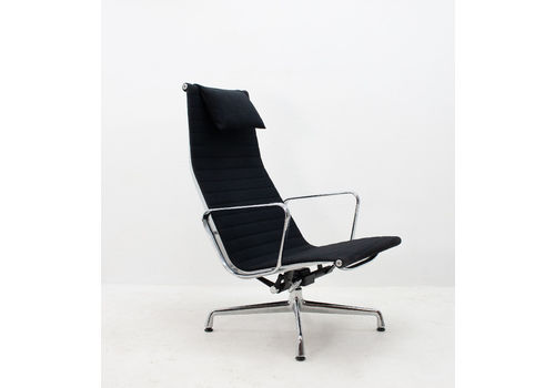 dcc61fd20147 Vitra Eames Ea116 Rotating Swivel Lounge Chair In Black F..