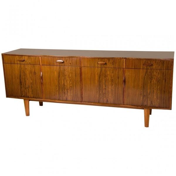 Mid Century English Rosewood Sideboard