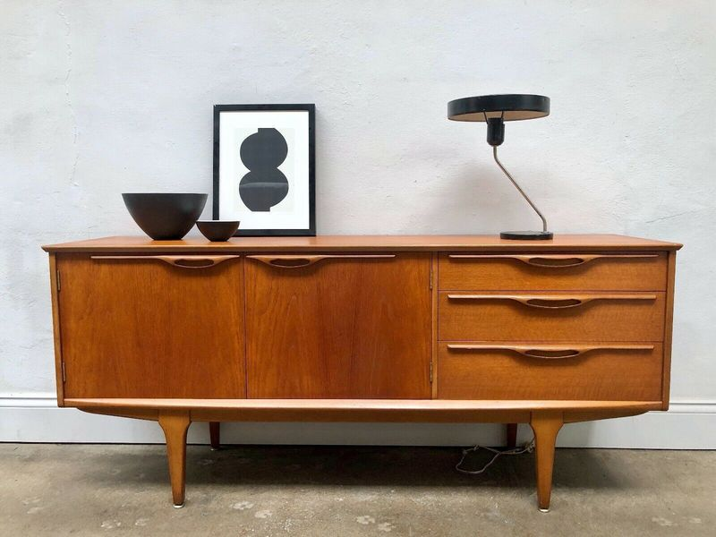 Vintage 60s Jentique Teak Sideboard Danish Mid Century Retro G Plan
