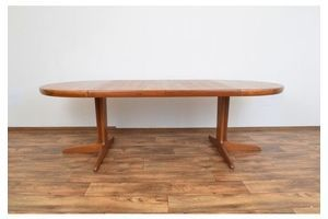 Thumb mid century danish extendable dining table from vv mobler spottrup 1970s 0