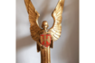 Pair Of Grumpy Angels C1920s From St. Alfeges Church In Central London photo furniture