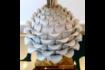 Large Ceramic Artichoke Lamp photo Lighting