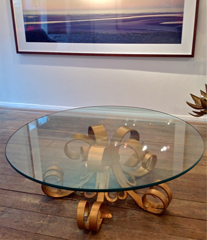 Gilt Hollywood Coffee Table