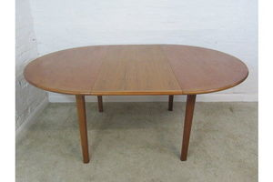 Thumb mid late 20th century schionning elgaard danish teak extending dining table unknown 0