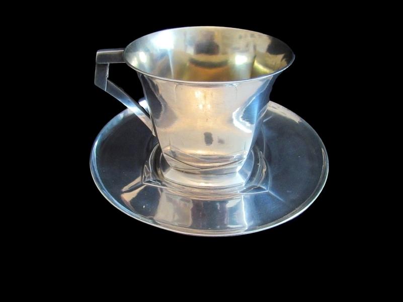 Antique Silver Christofle Tea Cup