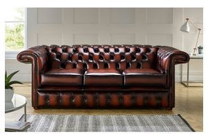 Thumb chesterfield 1857 hockeystick leather sofa 3 seater antique rust 0