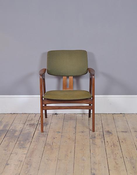 Cees Braakman Green Occasional Chair photo 1