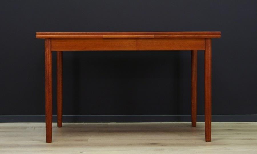 Table Teak Danish Design 60 70 Classic