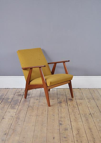 Yellow Duch Armchair
