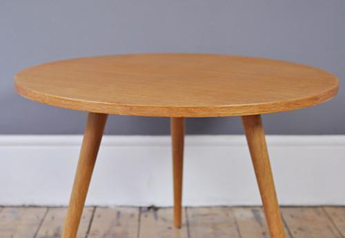 Round Oak Coffee Table photo 1