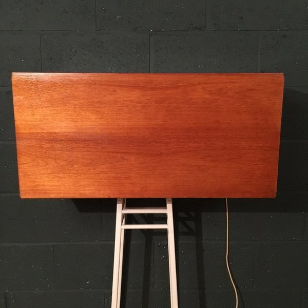 Retro Vintage Mid Century Beaver And Tapley 33 Teak Home Bar Cocktail Cabinet