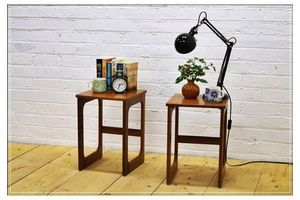 Thumb vintage bedside table side table set of 2 mc intosh teak mid century danish design a h mcintosh 1960s mcintosh united kingdom of great britain and northern ireland 0