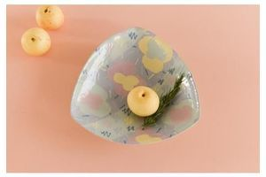 Thumb vintage contemporary 1980s ceramic studio pottery serving bowl platter 0
