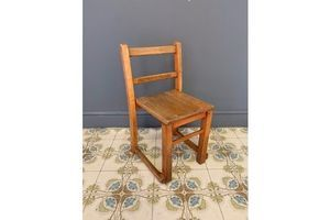 Thumb small oak child s chair 0