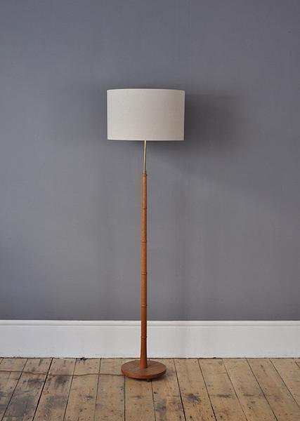 Teak Floor Lamp
