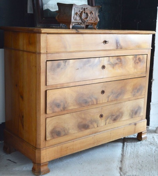 Louis Philippe Commode In Cherry Wood