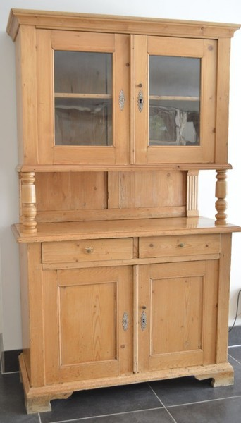 19th Century Pine Dutch Dresser