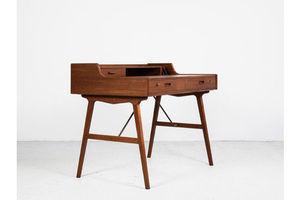 Thumb midcentury desk model 56 by arne wahl iversen for vinde mobelfabrik 1960s 0