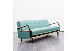 Thumb 1950s sofa in streamline style restored 0