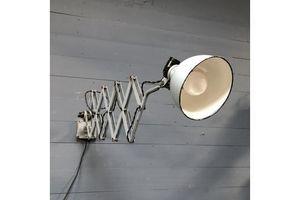 Thumb rare light gray rademacher scissor lamp 0