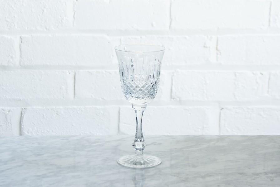 Crystal Wine Glasses   Sets Of 4