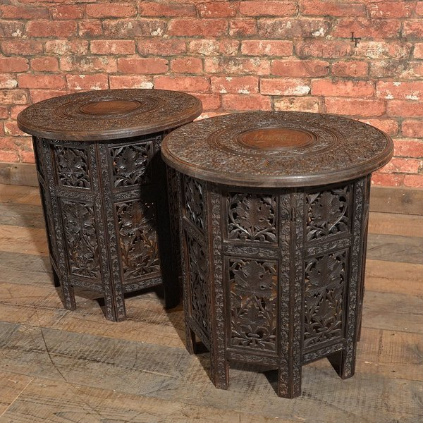 Victorian Campaign Side Tables