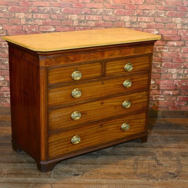 Georgian Chest Of Drawers, C.1780