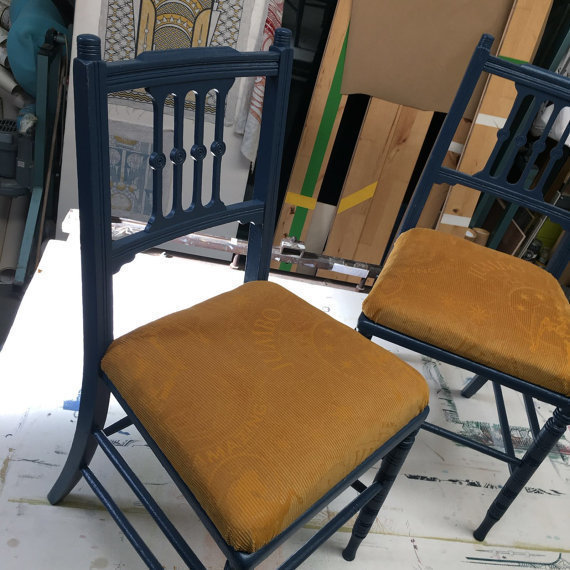 Money For Nothing Pair Of Daniel Heath Chairs