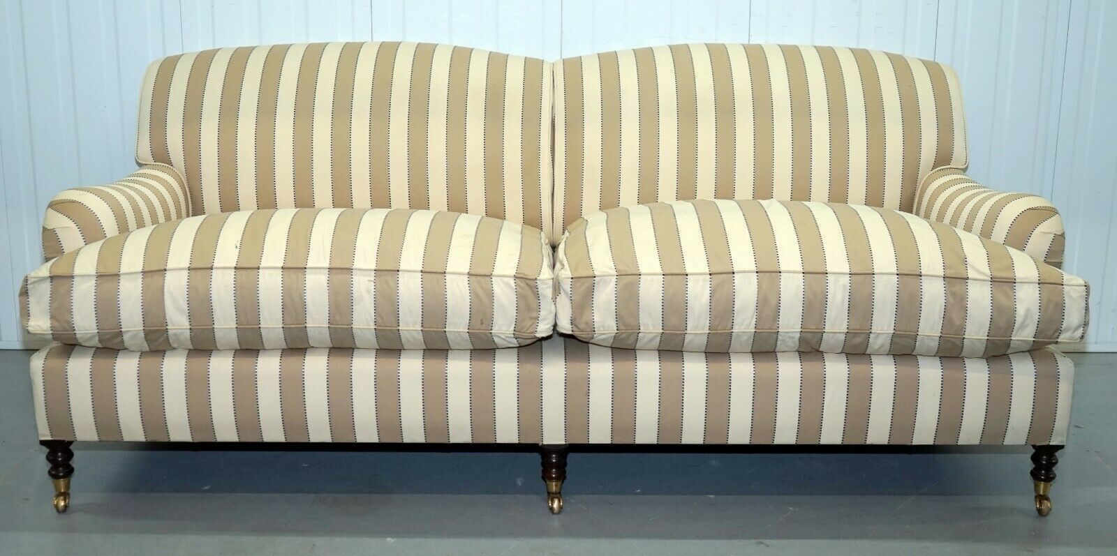 Gorgeous George Smith Sofa With Feather