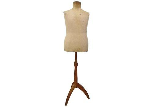 Mid 1900 Italian Vintage Haute Couture Tailor Dummy Dressmaker Mannequin