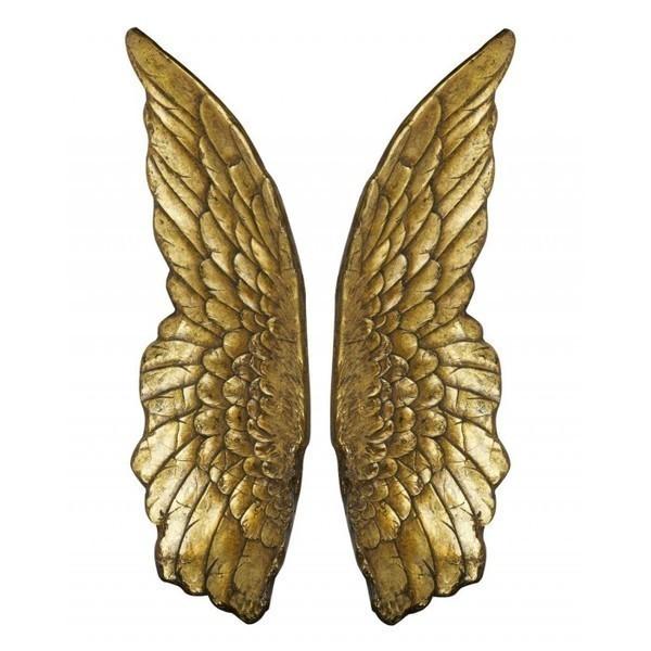 Gold Angel Wings
