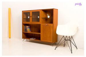 Thumb vintage g plan mid century retro teak glass display drinks cabinet shelves 23da90d5 b026 4335 a1cb dc51914f3ce5 0