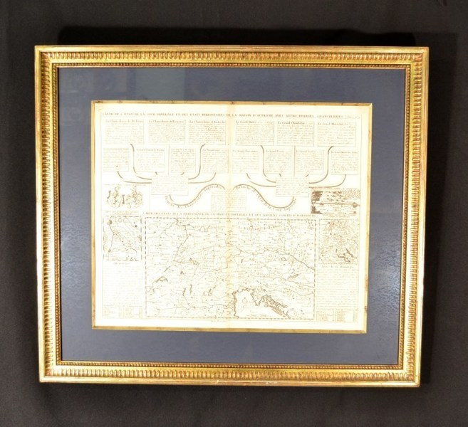 Map Imperial Court Of Austria Habsburgs photo 1