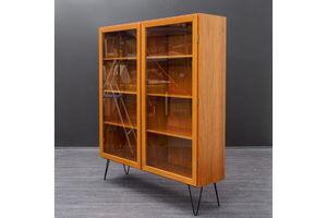 Thumb 1960s glass display cabinet teak made in denmark 0