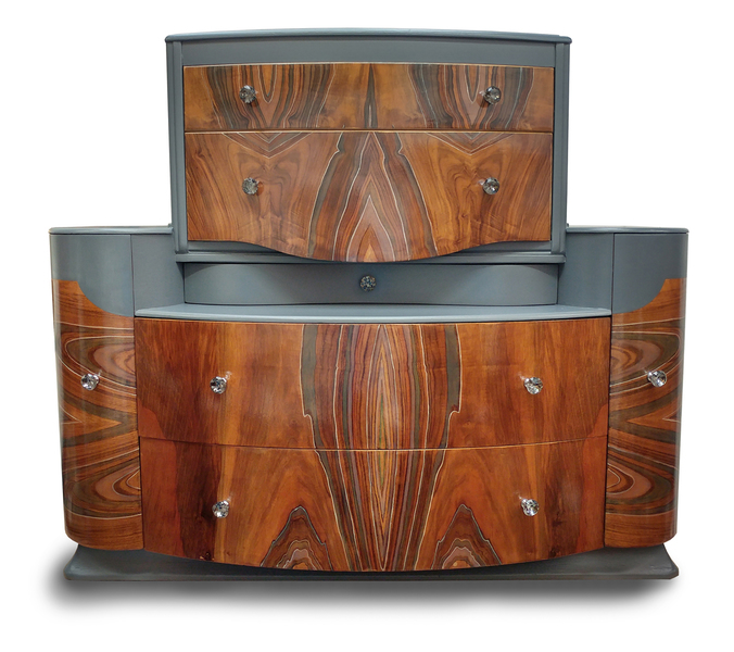 """""""The Statton"""" Fused Upcycled Bespoke Chest Of Drawers"""