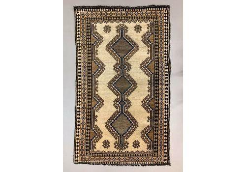 Vintage Tribal Luri Gabbeh Rug 215x131 Cm Medium, Shabby Chic Red