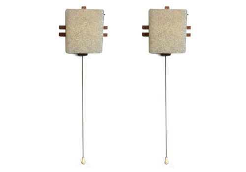 Vintage Pair Of Scandinavian Wall Lights From The 70s