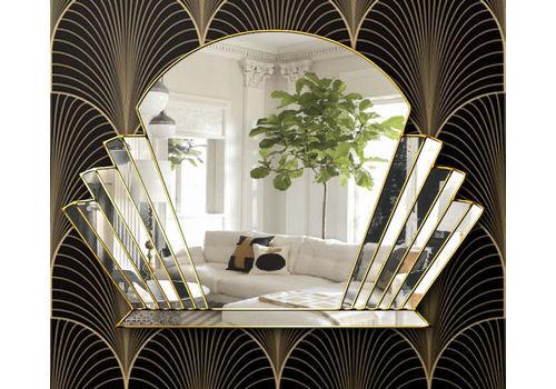 Art Deco Mirrors Vintage Art Deco Wall Mirrors For Sale Vinterior