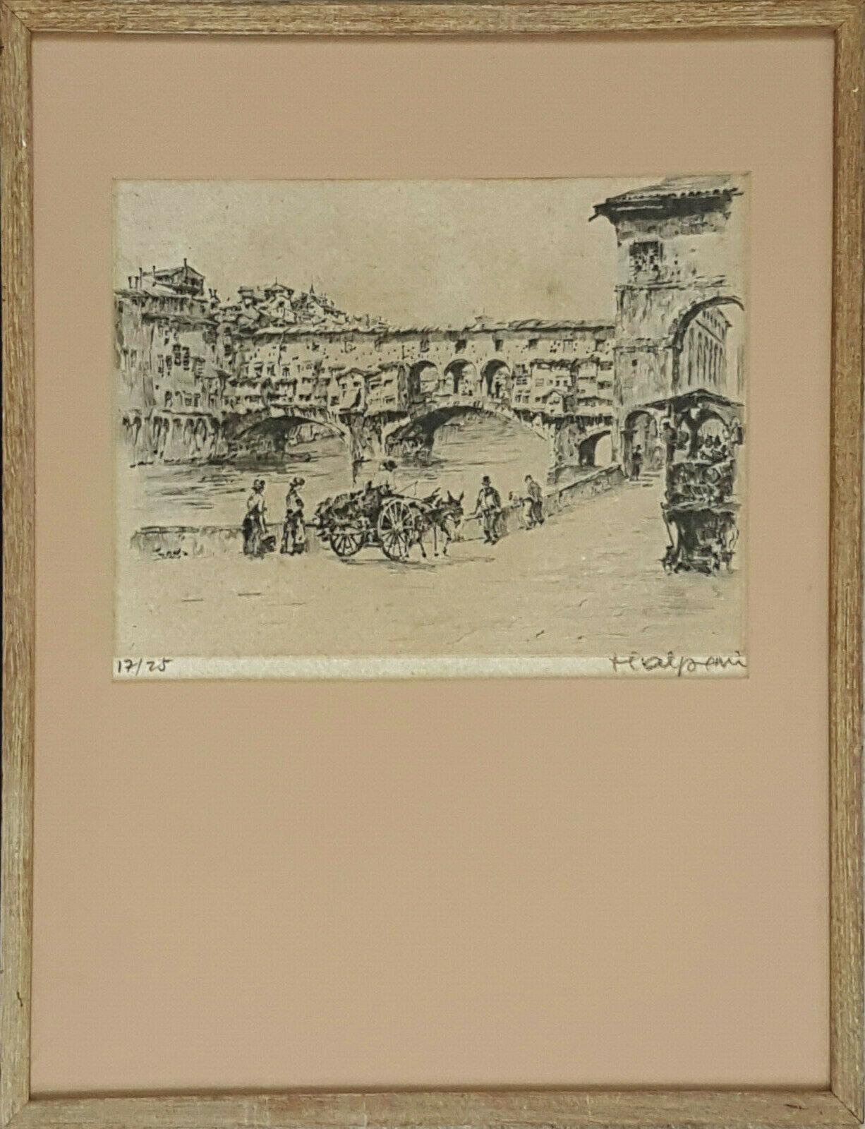 Etching by Frederick Halpern